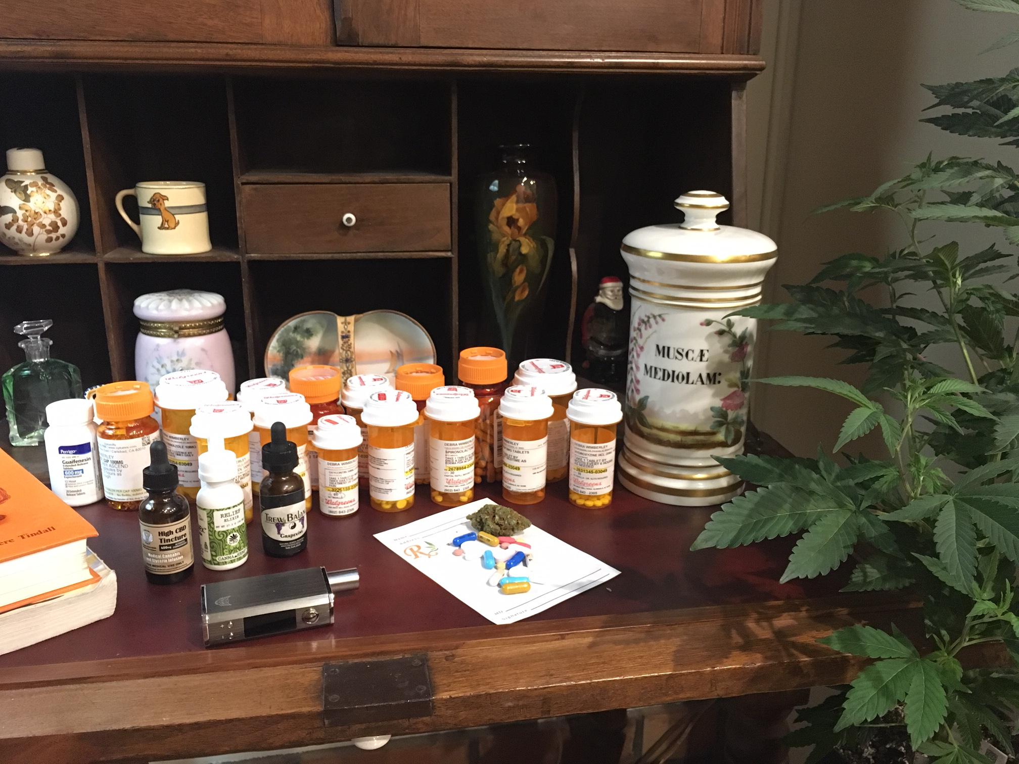 Cannabis & medications.
